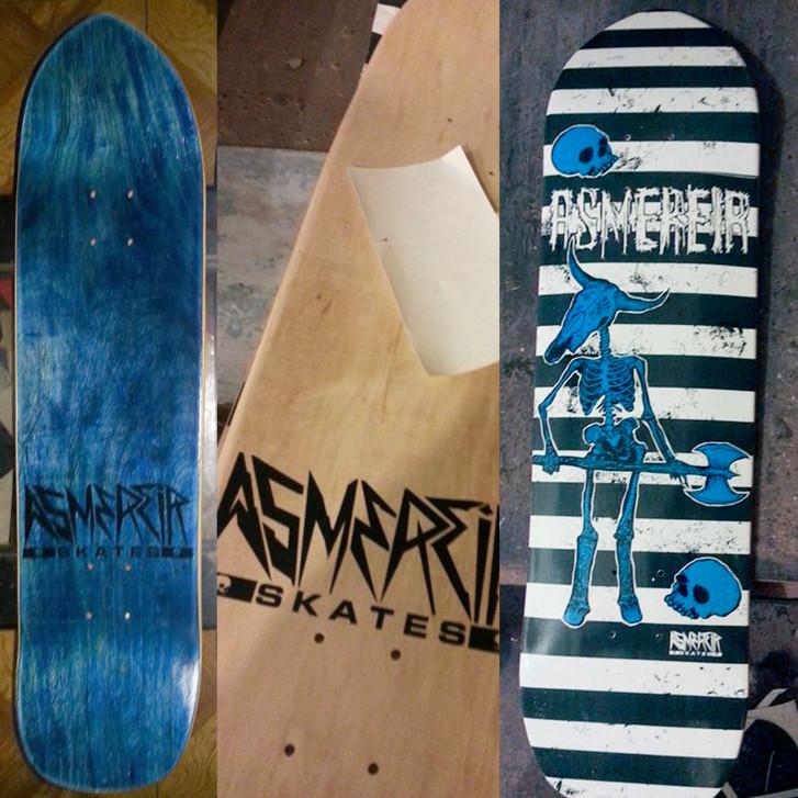 Asmerier Skates - Cabeza de Toro